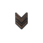 Insigne de Sergent (Marron)