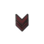 Insigne de Caporal (Rouge)