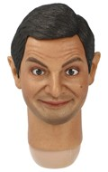 Rowan Atkinson Headscupt with Movable Eyes