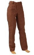 Pantalon de costume (Marron)