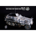 Sd.Kfz.250-1 camouflage hiver