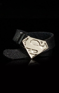 Belt with Diecast Superman Buckle (Black)