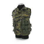 US NAVY SEAL Tiger Stripes camo sleeveless jacket