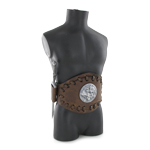 Leather Balteus Belt with Dagger Sheath (Die Cast)