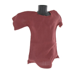 Dark red tunic