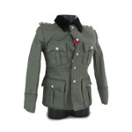 M36 Elite Officer Jacket with Obersturmbannführer Shoulders Tabs (Feldgrau)