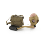 M1917 Respirator Gas Mask with canvas haversack