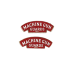 Royal Machine Gun Corps Shoulder Titles
