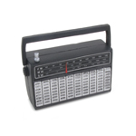 LW / MW / SW Radio Receiver (Black)