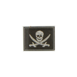 One Eye Calico Jack Pirate Navy Seal Patch (Black)