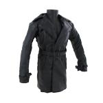 Manteau en cuir (Noir)
