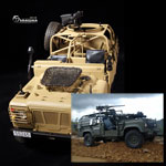 LandRover WMIK Assault version verte