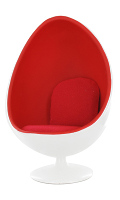 Fauteuil Oeuf (Rouge)