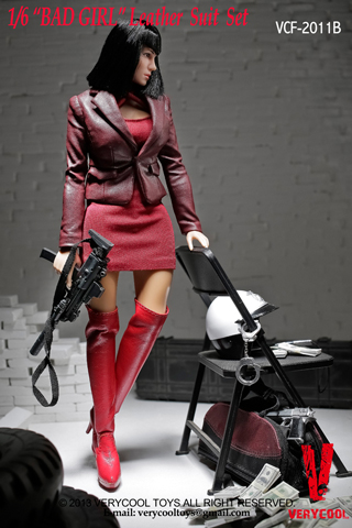 Set Bad Girl Femme (Rouge)