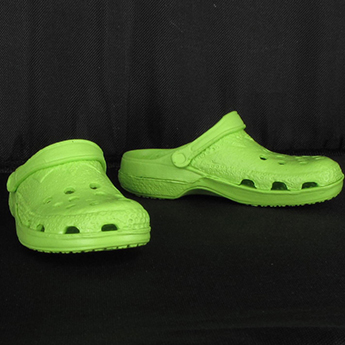 Light Green Crocs