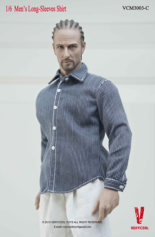 Chemise manches longues Homme (Type C)