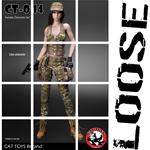 Set vêtements militaires Femme (Multicam)