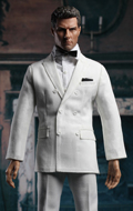 Double-Breasted Suit Set (White)