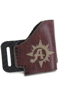 Holster en cuir (Marron)
