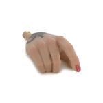 Caucasian Female Tattooed Right Hand