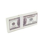 Liasse de billets de banque de 100 dollars