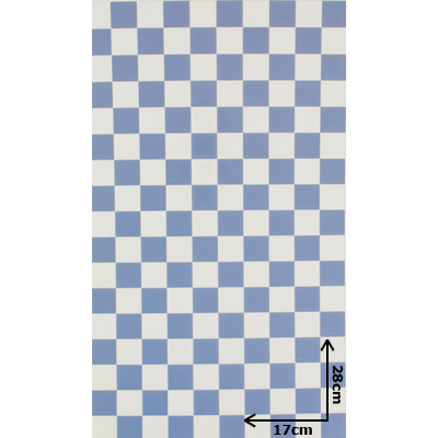 carrelage mural azulejos bleu et blanc 28cmx17cm machinegun. Black Bedroom Furniture Sets. Home Design Ideas