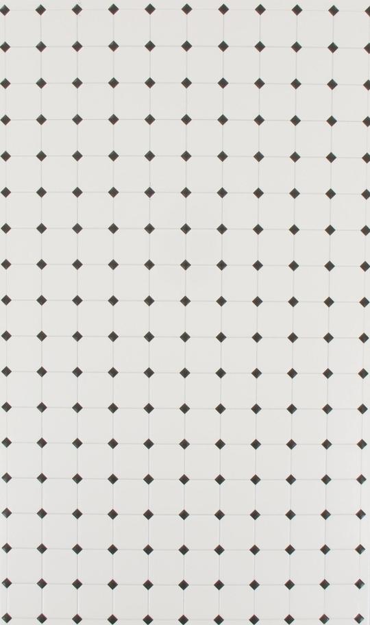 Carrelage mural blanc cabochons noirs 29cmx18cm machinegun for Carrelage cabochon noir et blanc