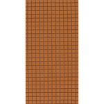Square terracotta tiling - prepasted