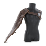 Leather Arm Manica (Brown)