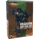 USSOCOM Navy seal UDT Woodland BDU Version