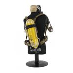 Système de respiration autonome bouteille jaune