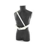 Elite Sam Brown Belt (White)