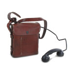EE8b Field Telephone with Carrier (Brown)