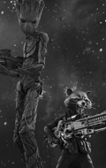 Avengers : Infinity War - Groot & Rocket Pack