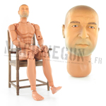 Bruno figurine nue Corps BBI G 3 5