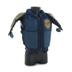 Gilet de protection de Juge (Bleu)