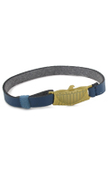 Belt with Die Cast Eagle Buckle (Blue)