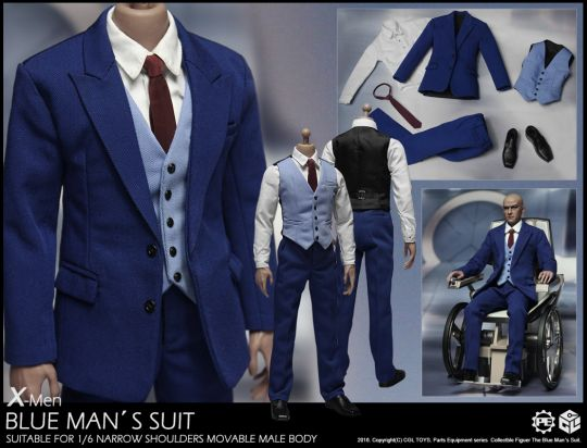 Set X-Men - Blue Man's Suit