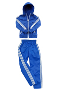Female Windbreaker Set (Blue)