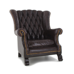 Armchair (Brown)