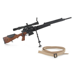 FRF2 sniper rifle with Scrome 10x40 scope