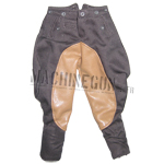 Officer Breeches w/Leather Pad