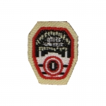 Fire Department City Of New York Patch (Black)