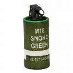 M18 Green Smoke Grenade (Olive Drab)