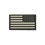 Patch drapeau Etats-Unis (Beige)