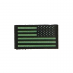 Low Visibility US Flag Patch (Olive Drab)