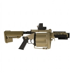 40mm MGL 105 Grenade Launcher (Coyote)