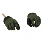 Mechanix Gloved Hands (Olive Drab)
