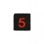 Team 5 Patch (Black)