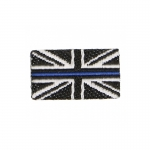Britain Flag Patch (Black)